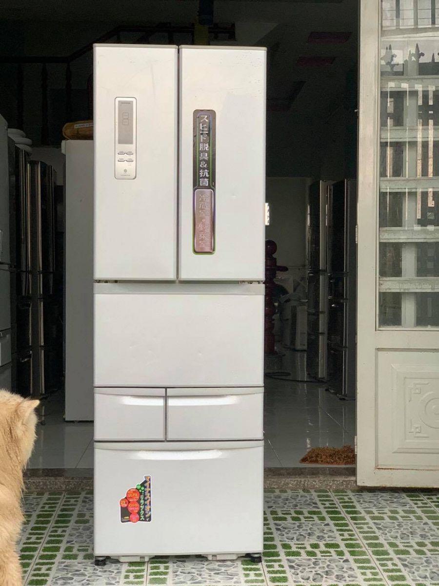 Tủ lạnh Nhật Toshiba GR-E43F (SS) 2013