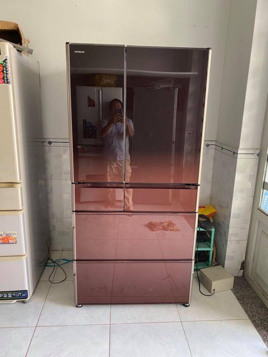 Tủ lạnh nhật Hitachi 6 cánh R-X7300F