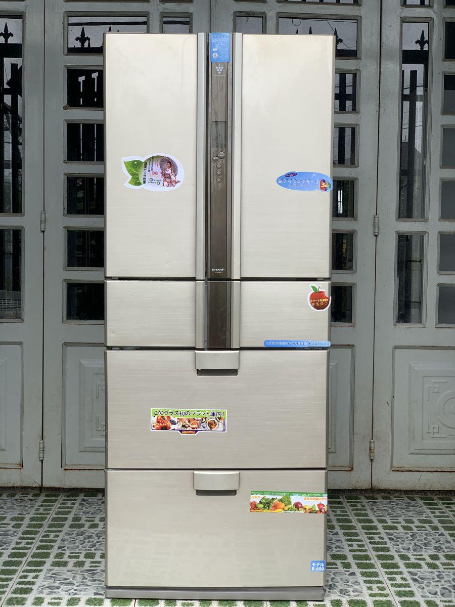 Tủ lạnh cũ Sharp SJ-KF46R-S 2009