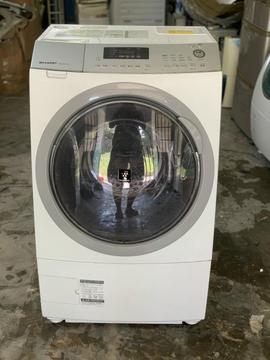 Máy giặt cũ nội địa Sharp ES-A210-SL