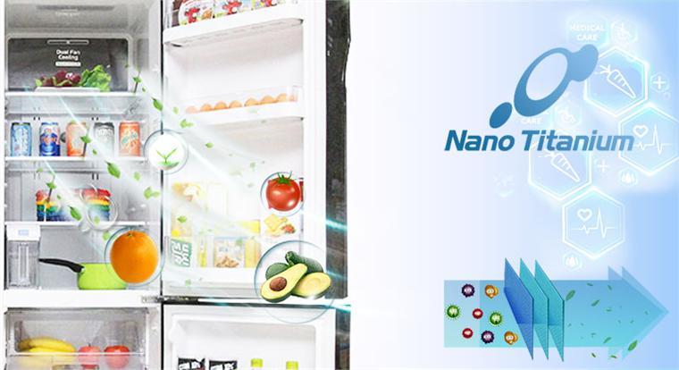 Công nghệ kháng khuẩn Nano Titanium giữ thực phẩm tươi và không bị hôi